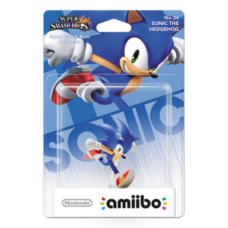 Sonic The Hedgehog amiibo figura - Super Smash Bros. Collection AJÁNDÉKTÁRGY