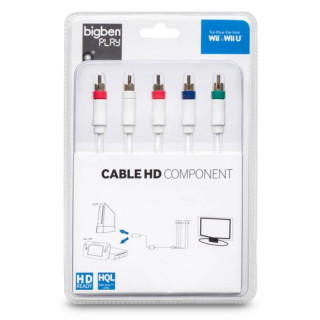 Wii/Wii U HD Component Cable (Komponens kábel) MULTI