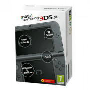 New Nintendo 3DS XL (Metál fekete) 3DS