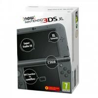 New Nintendo 3DS XL (Metál fekete) 3DS