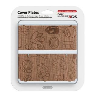 New Nintendo 3DS Cover Plate (Fa hatású) (Borító) 3DS