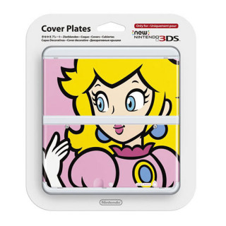 New Nintendo 3DS Cover Plate (Peach) (Borító) 3DS