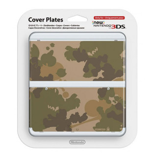 New Nintendo 3DS Cover Plate (Terepmintás) (Borító) 3DS