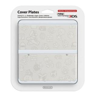 New Nintendo 3DS Cover Plate (Fehér) (Borító) 3DS