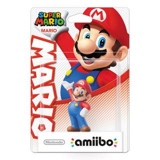 Mario amiibo figura - Super Mario Collection AJÁNDÉKTÁRGY