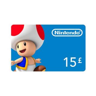 Nintendo eShop Feltöltőkártya 15 Font