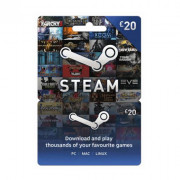 Steam Wallet Feltöltőkártya 20 Font PC