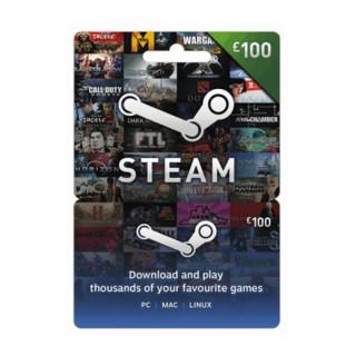 Steam Wallet Feltöltőkártya 100 Font PC