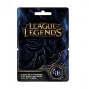 League of Legends Feltöltőkártya 18 Font PC