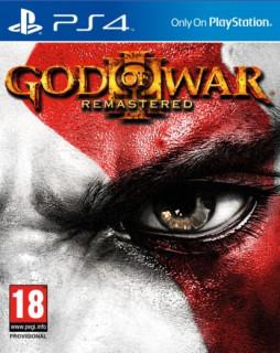 God of War III (3) Remastered (használt) PS4