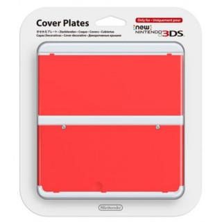 New Nintendo 3DS Cover Plate (Piros) (Borító) 3DS