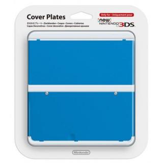 New Nintendo 3DS Cover Plate (Kék) (Borító) 3DS