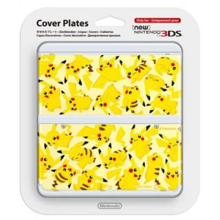 New Nintendo 3DS Cover Plate (Pikachu) (Borító) 3DS