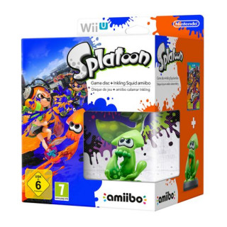 Splatoon amiibo Bundle WII U