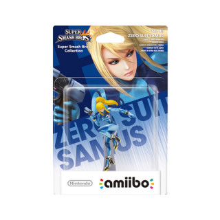 Zero Suit Samus amiibo figura - Super Smash Bros. Collection AJÁNDÉKTÁRGY