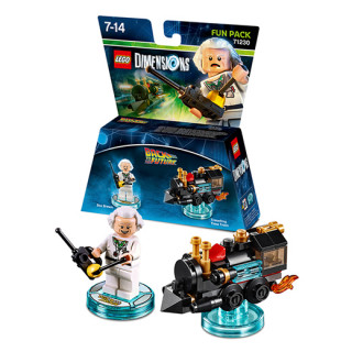 LEGO Dimensions Back to the Future Fun Pack (Doc Brown, Traveling Time Train) AJÁNDÉKTÁRGY