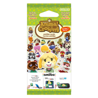 Animal Crossing amiibo Cards (Series 1) AJÁNDÉKTÁRGY