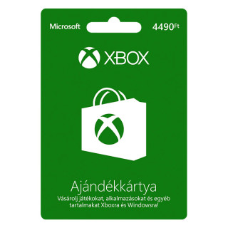 Xbox Live Feltöltőkártya 4490 HUF MULTI