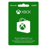 Xbox Live Feltöltőkártya 4490 HUF Több platform