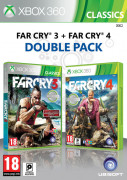 Ubisoft Double Pack - Far Cry 3 & 4 XBOX 360