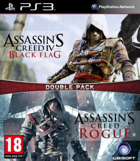 Ubisoft Double Pack - Assassin's Creed IV Black Flag & Rogue PS3