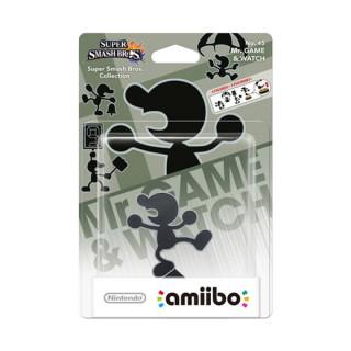 Mr. Game & Watch amiibo figura - Super Smash Bros. Collection AJÁNDÉKTÁRGY