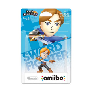 Mii Swordfighter amiibo figura - Super Smash Bros. Collection AJÁNDÉKTÁRGY