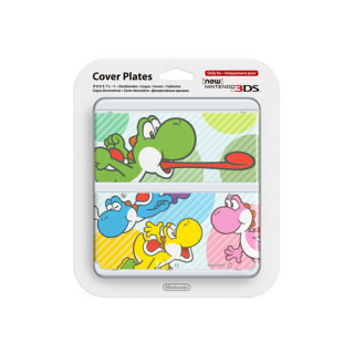 New Nintendo 3DS Cover Plate (Multicolor Yoshi) (Borító) 3DS