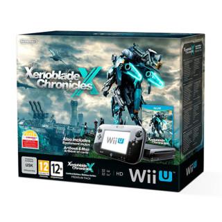 Nintendo Wii U Premium (Fekete) + Xenoblade Chronicles X