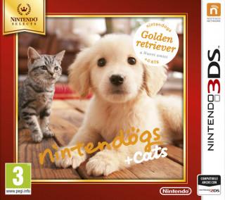 Nintendogs + Cats: Golden Retriever + New Friends 3DS