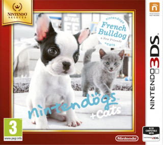 Nintendogs + Cats: French Bulldog + New Friends 3DS