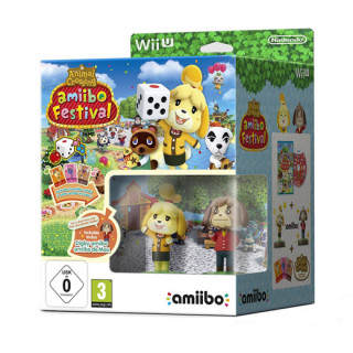 Animal Crossing amiibo Festival amiibo Bundle WII U