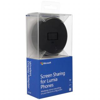 Microsoft képernyőmegosztó korong-adapter Fekete Mobil
