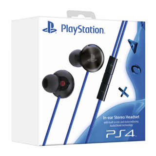 In-ear Stereo Headset for PS4