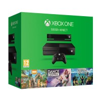 Xbox One 500GB + Kinect + Dance Central Spotlight + Zoo Tycoon + Kinect Sports Rivals Xbox One