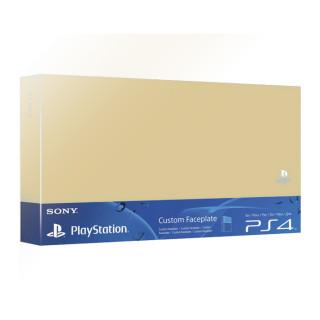 PlayStation 4 Merevlemez Fedőlap (Arany) PS4