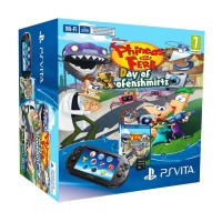 PS Vita Slim (Wi-Fi) Phineas and Ferb Day of Doofenshmirtz Bundle PS Vita
