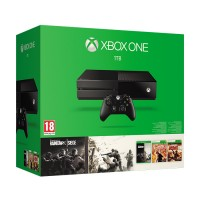 Xbox One 1TB + Rainbow Six Siege + Rainbow Six Vegas + Rainbow Six Vegas 2 Xbox One