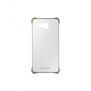 Samsung EF-QA510CFEGWW A510 Clear Cover Gold Mobil