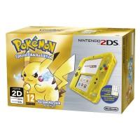 Nintendo 2DS (Átlátszó, Sárga) + Pokemon Special Pikachu Edition 3DS