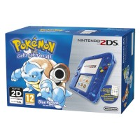 Nintendo 2DS (Átlátszó, Kék) + Pokemon Blue Version 3DS