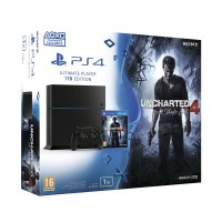 Playstation 4 (PS4) 1TB + Uncharted 4 A Thief's End PS4