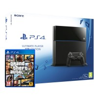 Playstation 4 (PS4) 1TB + Grand Theft Auto V (GTA 5) PS4