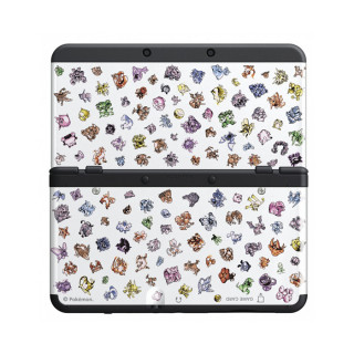 New Nintendo 3DS Pokémon 20th Anniversary Cover Plate (Borító)