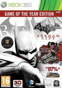 Batman: Arkham City Game of the Year Edition (GOTY) Xbox 360