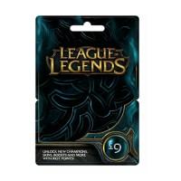 League of Legends Feltöltőkártya 9 Font PC