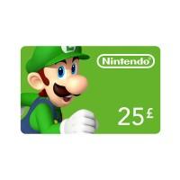 Nintendo eShop Feltöltőkártya 25 Font Több platform