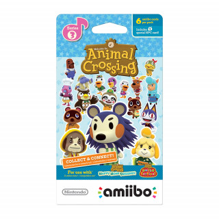 Animal Crossing amiibo Cards (Series 3) AJÁNDÉKTÁRGY