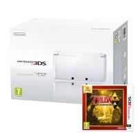 Nintendo 3DS (Fehér) + The Legend of Zelda A Link Between Worlds 3DS