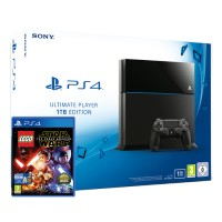 Playstation 4 (PS4) 1TB + LEGO Star Wars The Force Awakens PS4